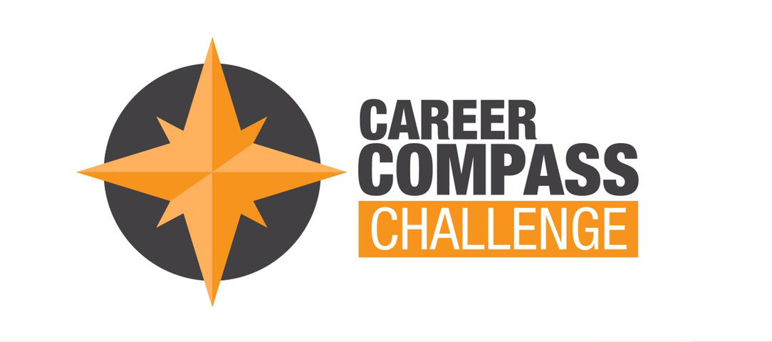 Career Compass Challenge with yellow compass