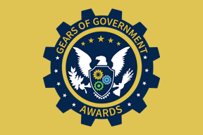 Gears of Government Awards around eagle with gears